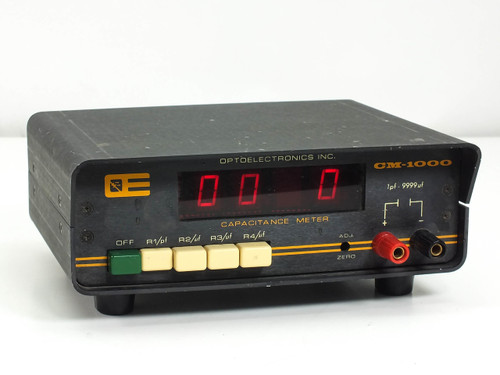 Optoelectronics CM-1000 Capacitance Meter & Frequency Counter - As Is