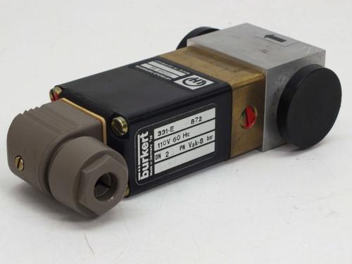 Leybold-Heraeus 85548 B1 Purge / Vent Valve with NW-10 Flanges 110 VAC