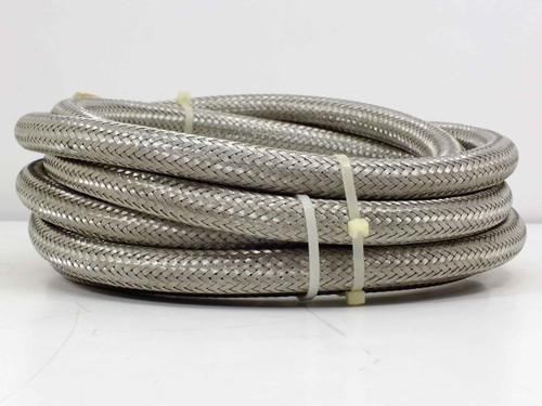 "Cryogenic 14' 3/4"" Braided Cryogenic Compressor Line with 5400-S5-8 Couplings"