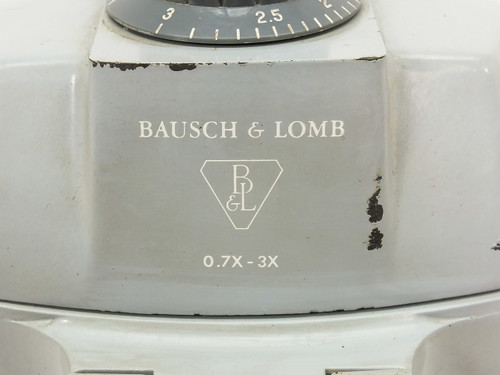 Bausch & Lomb 0.7x - 3.0x  Microscope Head POD with Focus Block and Stand