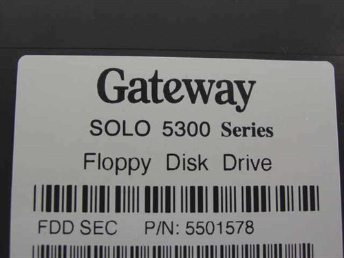 Gateway Solo 5300 Series Floppy Disk Drive for Laptop 5501578 - AS IS