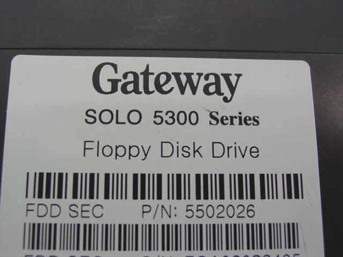 Gateway 5502026 Solo 5300 Series Floppy Disk Drive for Laptop - AS IS