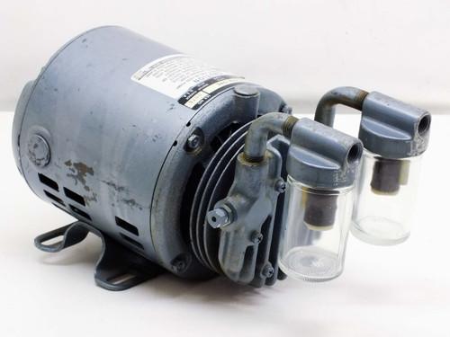 Gast 0211-103A-G8C Vacuum Pump with 1/6 HP Ph-1 115 VAC Motor
