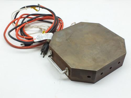 Steel Resistance Heating Element Block 115-Volt AC with Handles