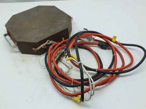 Steel Resistance Heating Element Block 115-Volt AC with Handles