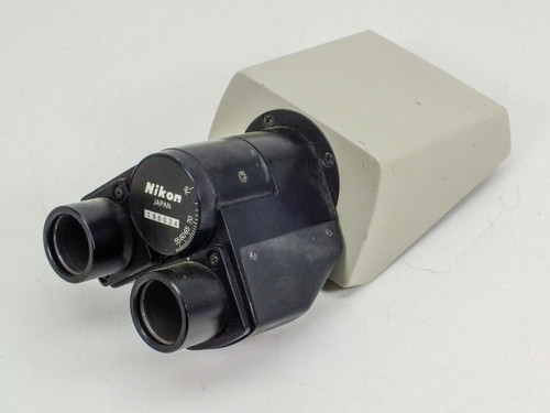 Nikon Binocular Microscope Head with Adjustable Interpupillary Eyepiece Tubes