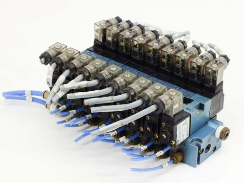 MAC 12.7WATTS 24VDC 120PSI SOLENOID VALVES 45A-NAC-DDFJ-2KD