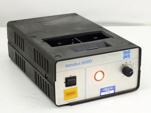 Volpi Intralux 6000 Microscope Light Source for Fiber Optic Lamp Cables 115 Volt