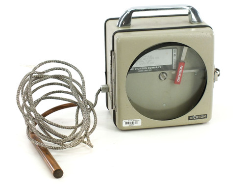 Dickson DT4-150C-B-7-P-1-A Portable Chart Recorder - Needs Battery - As Is