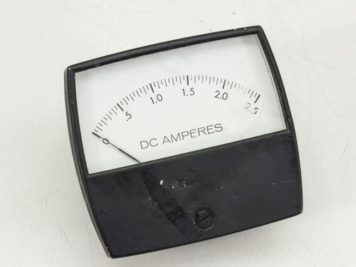 Generic DC Amperes Meter 0~2.5 Amp MAX