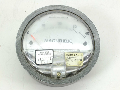 Dwyer  2040C  Magnehelic Differential Pressure Gauge 0-40""