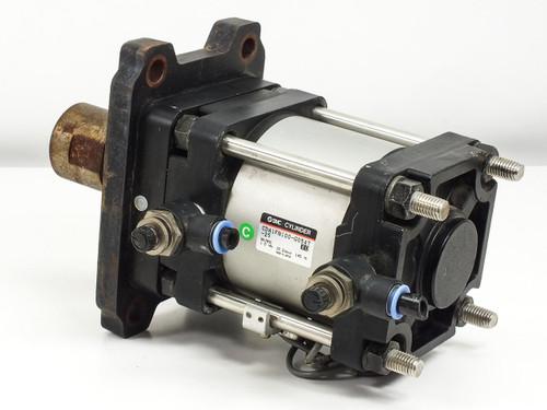 SMC CDA 1FN100-G0547-25 Pneumatic Cylinder 1.0MPa - Linear Rod