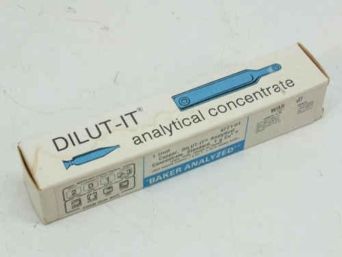 DILUT-IT 4771-01 1g Cu² Copper Analytical Concentrate Standard