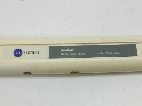 """Ion Systems NilStat 5685 AeroBar Ionizer Bar Anti Static Environments 44"""" Long"""