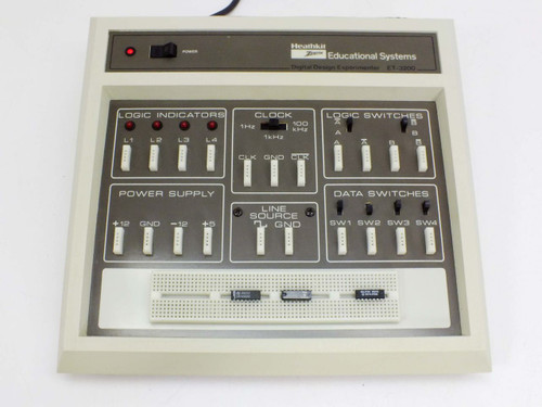 HeathKit ET-3200 Digital Design Experimenter - WHITE