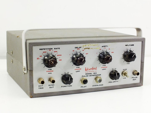 Rutherford B-14 Pulse generator - AS IS