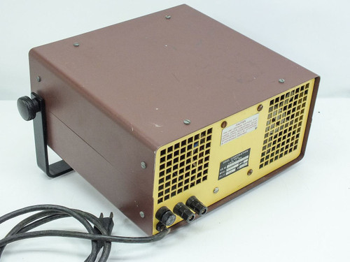 Oriel 6329  Regulated AC Power Supply 3.5 - 19.0 VAC with Banana Plug Outputs