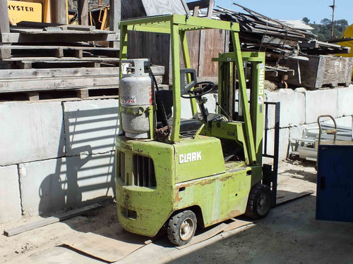 Clark C500-30 Forklift - Not Running - Tank Not Included - AS IS