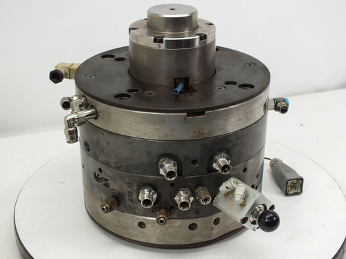 "AWM Mold Tech AG Netstal DC Injection Molder Head (15"" x 15"" x 11"")"