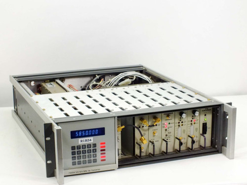 Scientific Atlanta 7550B Video Exciter - 7550A Up-Converter 5.8~6.4 GHz - As Is