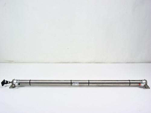 SMC CDM2L32-750A-C73C 3-Foot Pneumatic Cylinder / Actuator with JAF30-10-125
