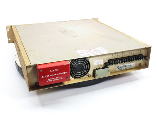 Electronic Measurement TCR SRC DC Power Supply 150V 7A (150S7-1-0386T-OV-LB)
