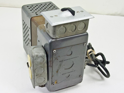 Sola Electric 23-22-125 OH 250VA 115 Volt Constant Voltage Transformer 2 Outlets