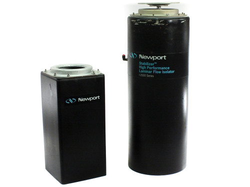 Newport I-2000 Pneumatic Vibration Isolator Breadboard Table Legs - Lot of 2