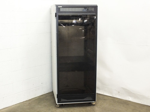 Wright Line 35U Electronic Equipment Cabinet Rackmount Enclosure on Wheels
