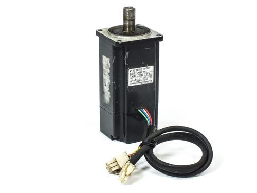 Yaskawa AC Servo Motor 200V 2.6A 1.27Nm 3000RPM 400W (SGML-04AF14)