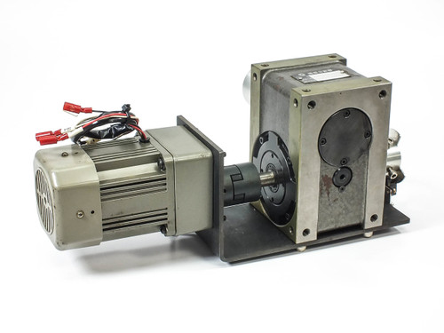 Tung Lee Electrical Reversible Motor 60W 200VAC with Indexing Drive  5RK60GN-C