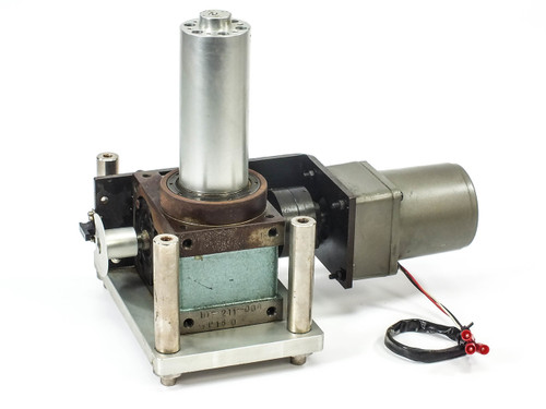 Tung Lee 4RK25GN-C Reversible Motor w/ 1U-211-008-P160 Indexing Drive