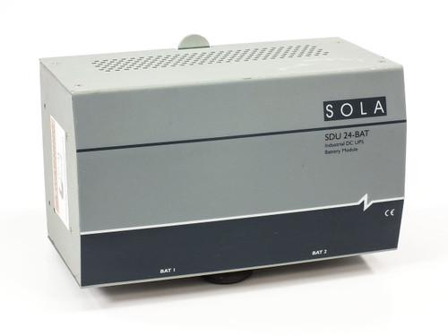 SOLA SDU-24 BAT DC UPS for DIN Rail Mount