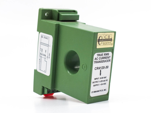 CR Magnetics Inc. True RMS AC Current Transducer CR4120-30