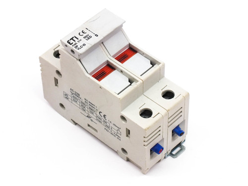 ETI VLC10 2-Pole Fuse Holder/ Disconnector AC-22B 3W 690V