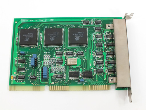 Startech PN4920 6 Port ISA Network Card E128381