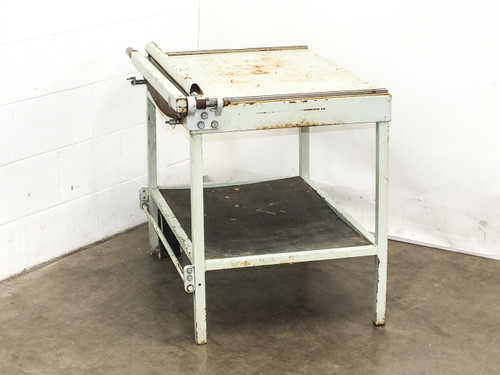 "Industrial Guillotine Paper Cutter Shear w/ 31.5"" x 23.75"" Table & Media Holder"