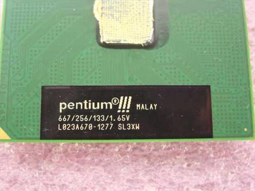 Intel Pentium III 667Mhz Processor (SL3XW)