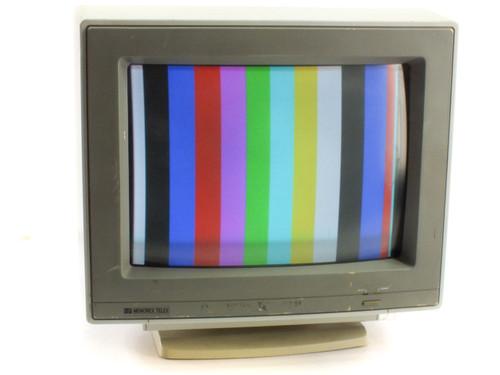 "Memorex Telex 3050-T 14"" VGA CRT Monitor - Analog Color Display - 120V~60Hz 1.0A"