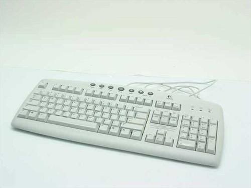 Logitech Y-ST39 Key Internet Keyboard - Yellowed Plastic