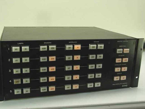 AVHQ Black Rackmount Stage Lighting Controller Master Control