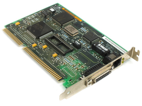 Intel 306451 16-Bit ISA 8/16 Lan Adapter Etherexpress with RJ45 and AUI