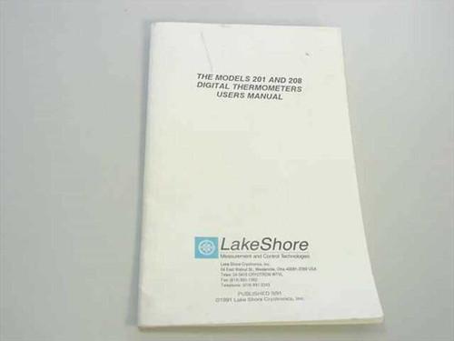 Lakeshore 201 / 208 Digital Thermometer Users Manual