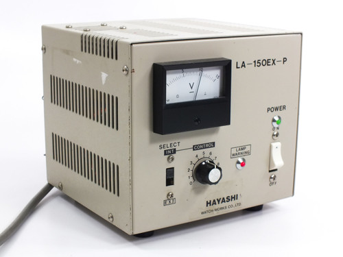 Hayashi LA-150EX-P 5~15VDC Power Supply Transformer for Microscope Lamp Bulbs