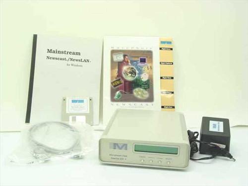 Mainstream Data Satellite IDR II Receiver with Newscast/Newslan Disk Software