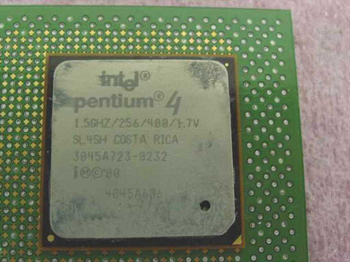 Intel P4 1.5GHz/256/400/1.7V Costa Rica Socket 423 CPU (SL4SH)