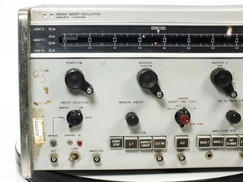 HP 8690A Sweep Oscillator NO Plug-In -Untested AS-IS
