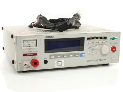 Kikusui TOS9201 AC/DC Withstanding Insulation Resistance HIPOT Tester - As Is
