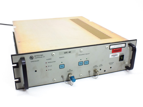 Miteq U-8153 / 38152 C-Band Upconverter Dual Conversion 5.845~6.425 GHz