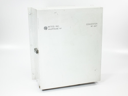 Miteq U/D-9502-61289 C-Band Up/Downconverter RF Unit in Outdoor Enclosure